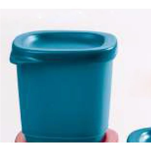 Tupperware Mini Refri Line Quadrado 110ml Turmalina