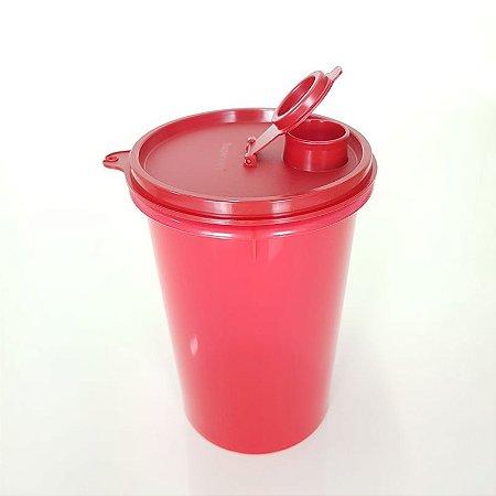 Tupperware Guarda Suco 1 Litro Vermelho Escuro