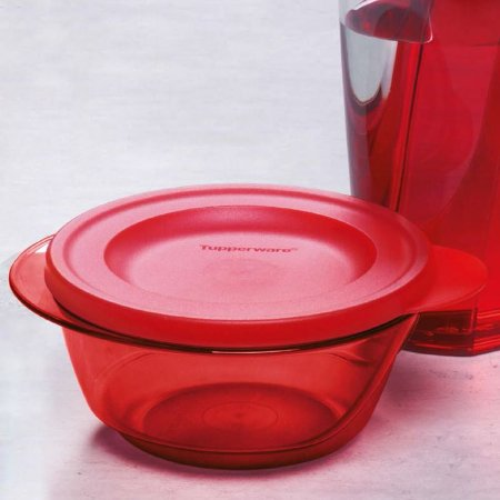 Tupperware Tigela Design 450ml Vermelho