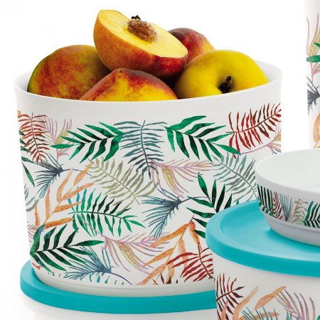Tupperware Refri Line Redondo 2,1 litros Tropical