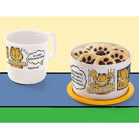 Tupperware Caneca Garfield 350ml + Mini Instantânea 575ml