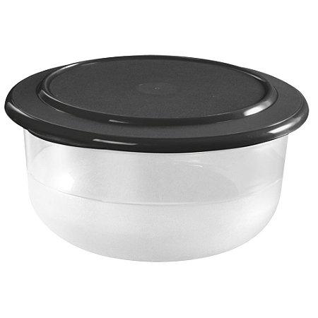Tupperware Tigela Cristal 2,1 litros Preto