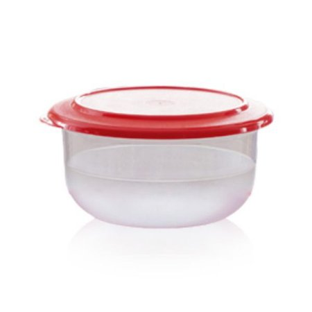 Tupperware Tigela Cristal 1 litro Vermelho