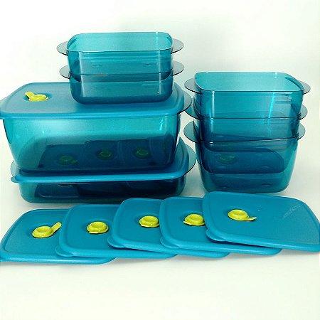 Tupperware Conjunto Cristalwave Plus 7 peças
