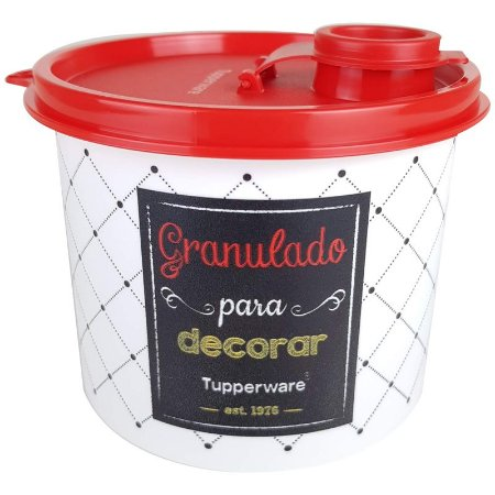 Tupperware Redondinha Granulado Bistrô 500ml