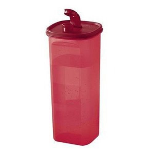 Tupperware Guarda Suco Slim 2 Litros Marsala Transparente