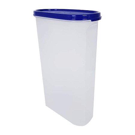 Tupperware Modular Oval 2,9 litros Azul