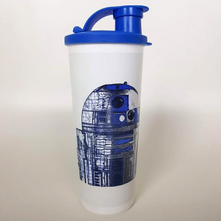Tupperware Copo R2-D2 Star Wars 470ml Azul