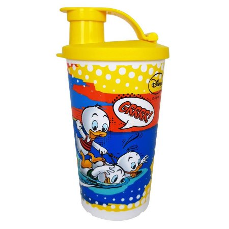 Tupperware Copo com Bico Duck Tales 330ml Amarelo