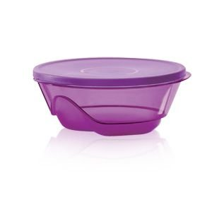 Tupperware Tigela Design 1,5 Litro Roxo