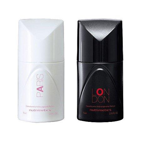 Nutrimetics Paris e London Desodorante Antitranspirante Roll-on 75ml
