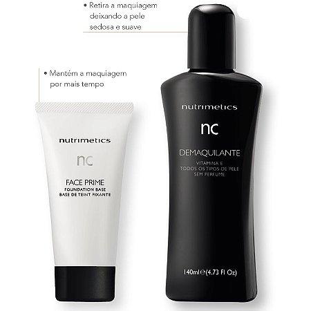 Nutrimetics Demaquilante Facial 140ml + Primer Facial 50ml