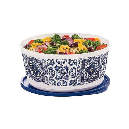 Tupperware Tigela Ilúmina Azulejos 4,3 litros