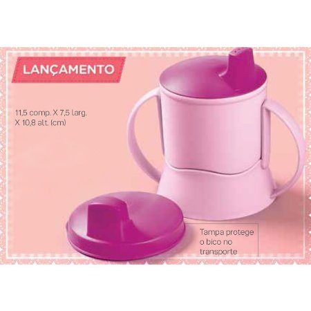 Tupperware Copinho com Bico e Alça 150ml