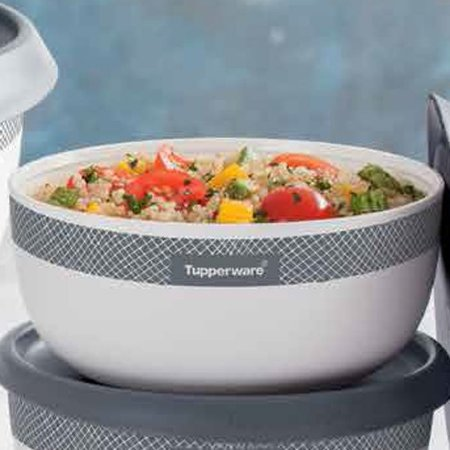 Tupperware Tigela Toque Mágica Geométrica 550ml
