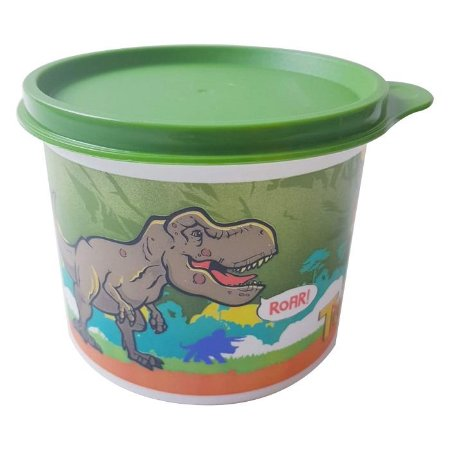 Tupperware Redondinha Jurassic World 500ml