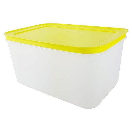 Tupperware Freezer Line 2,5 litro Amarelo Neon