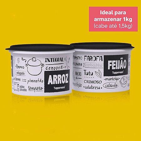 Tupperware Caixa Arroz + Feijão PB Kit 2 peças