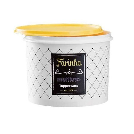 Tupperware Caixa Farinha Bistrô 3,8kg