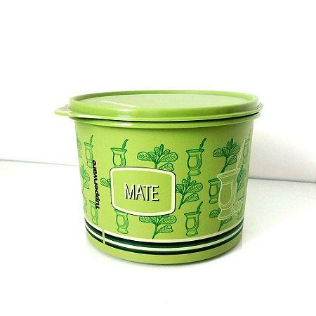 Tupperware Caixa para Erva Mate 1 Kg Verde