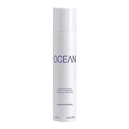 Nutrimetics Desodorante Corporal Spray Ocean Masculino 100ml
