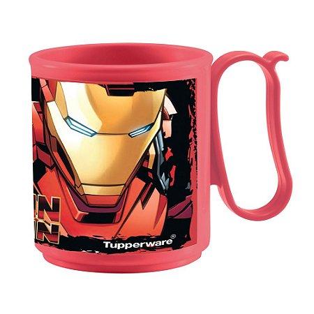 Tupperware Caneca Homem de Ferro 280ml