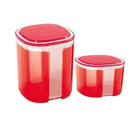 Tupperware Pote Visual kit 2 peças