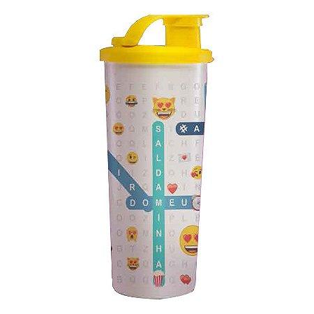 Tupperware Copo com Bico 470ml Emoji Ele