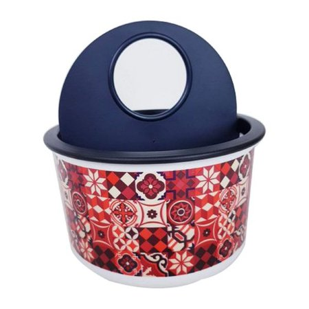 Tupperware Porta Detergente Clean com Decoração