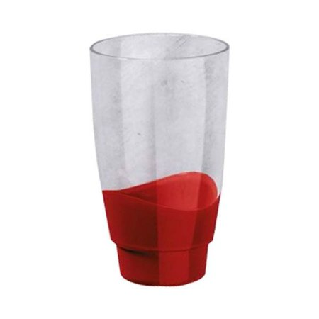 Tupperware Copo Elegância 475ml Vermelho