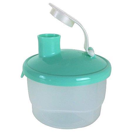 Tupperware Dosador de Leite em Pó Verde
