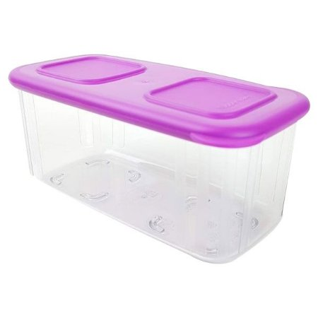 Tupperware Clear Mate Retangular 460ml