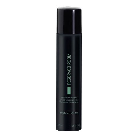 Nutrimetics Desodorante Corporal Spray Reserved Room Masculino 100ml