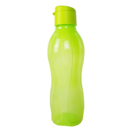 Tupperware Eco Tupper Garrafa Redonda Plus 1 litro Flip Top
