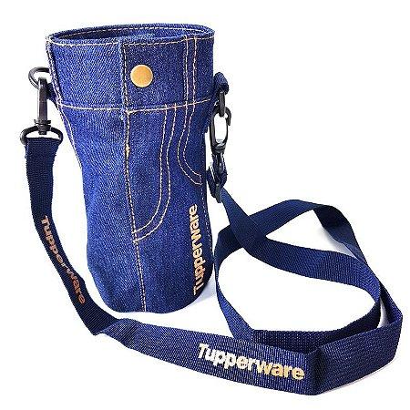 Tupperware Capa Jeans para Eco Tupper Garrafa 1 litro