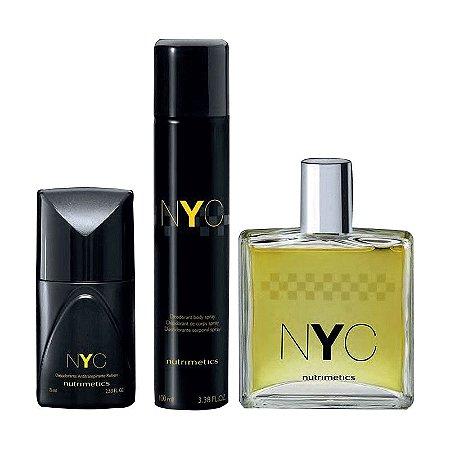 Nutrimetics Perfume NYC kit 3 Peças