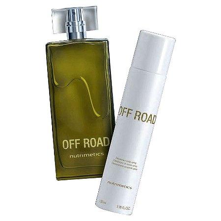Nutrimetics Perfume Off Road Kit 2 Peças