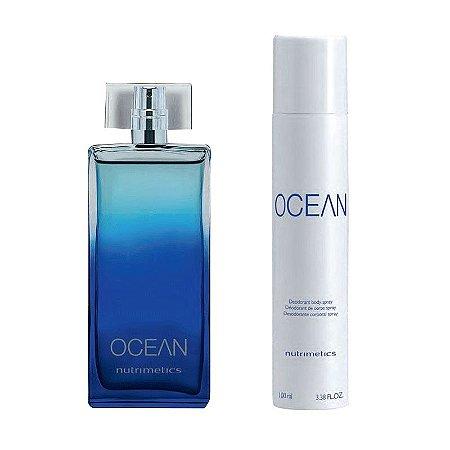 Nutrimetics Perfume Ocean kit 2 Peças