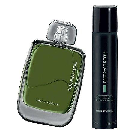 Nutrimetics Perfume Reserved Room kit 2 Peças