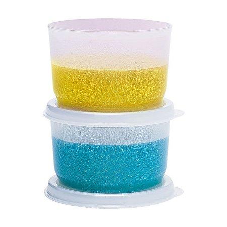 Tupperware Potinho Glitter kit 2 peças