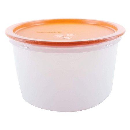 Tupperware Pote Master 1,5 litro Tampa Laranja