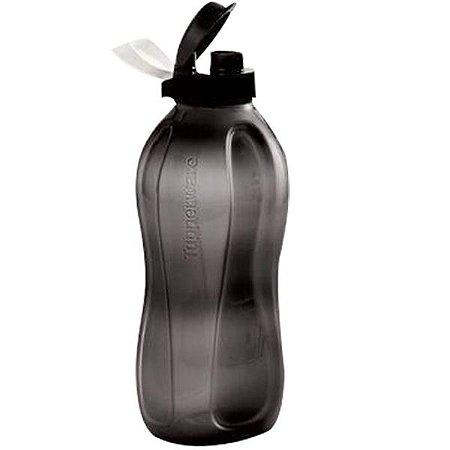Tupperware Eco Tupper Plus Garrafa 2 litros Jet Black