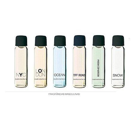 Nutrimetics Amostra Perfume Masculino kit 6 Peças