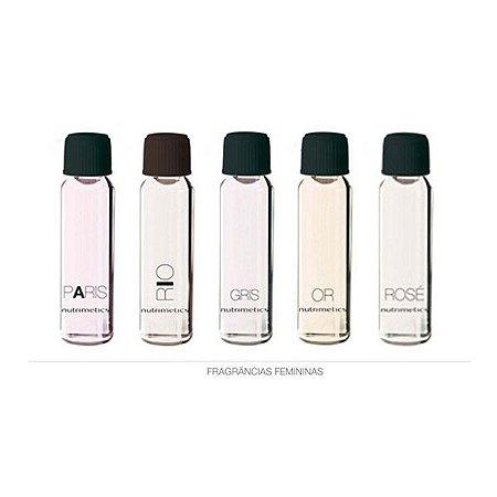 Nutrimetics Amostra Perfume Feminino kit 5 Peças