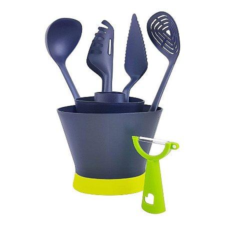 Tupperware Utensílio de Cozinha Essencial Kit 6 Peças
