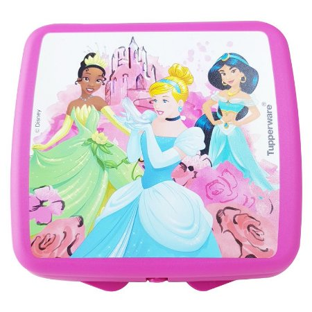 Tupperware Porta Sanduíche Princesas