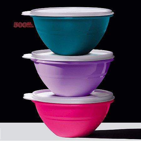 Tupperware Tigela Maravilhosa Kit 3 peças