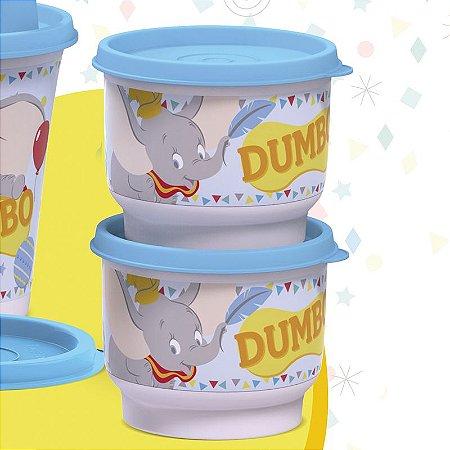 Tupperware Potinho Baby Dumbo 140ml Kit 2 peças