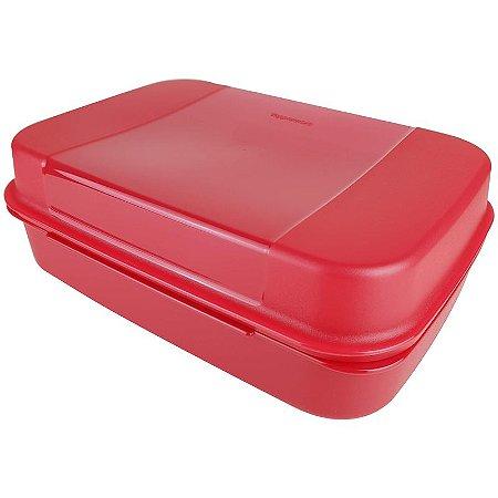 Tupperware Visual Box 2,3 litros Vermelho