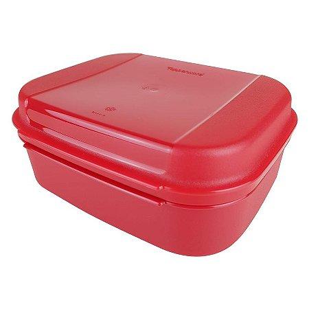 Tupperware Visual Box 1,1 litro Vermelho